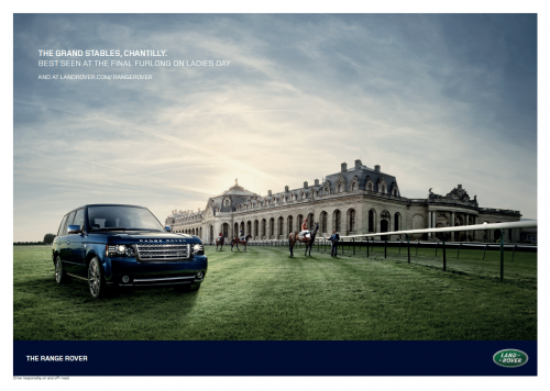 Range Rover Autobiography photographer John Higginson production Hanne Evans