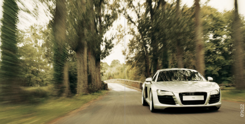 AUDI R8 photographer Michael Schnabel production Hanne Evans