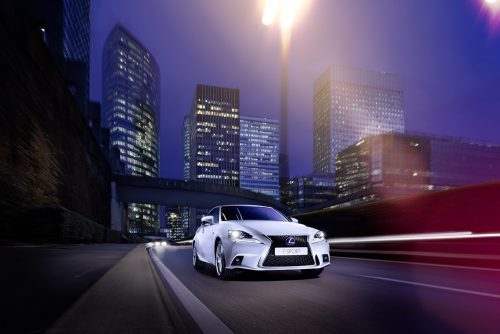 Lexus Is photographer Daniel Hartz production Hanne Evans