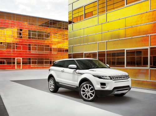 Land Rover Evoque photographer John Wicherley production Hanne Evans
