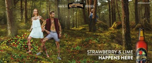 Kopparberg photographer Peter Rad production Hanne Evans