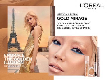 L'Oréal Make UP – Photographer Sofia & Mauro – Production Cinq étoiles paris